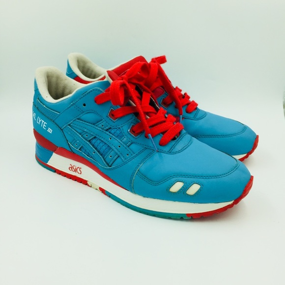 new concept a73a6 522ef ASICS TIGER GEL LYTE III REFLECTIVE ATHLETIC SHOES